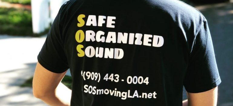 a mover from SOS Moving and Storage team