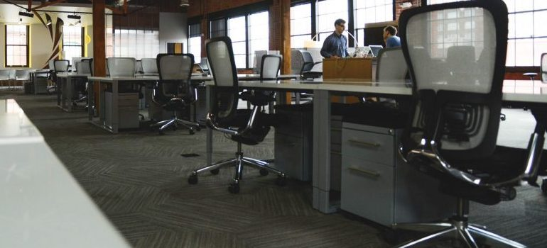 office space and furniture