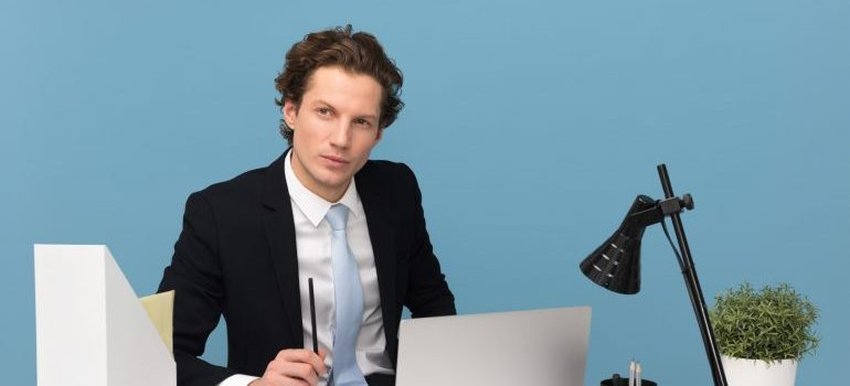 A man negotiating a commercial lease for your CA offices