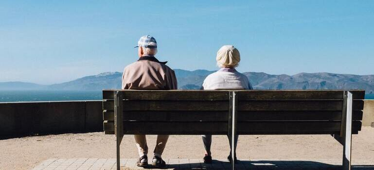 seniors sitting on the chair in Slow-paced places in CA retirees are moving to